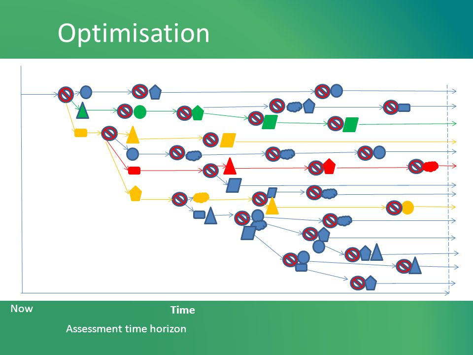 Optimisation Assessment time horizon Now Time