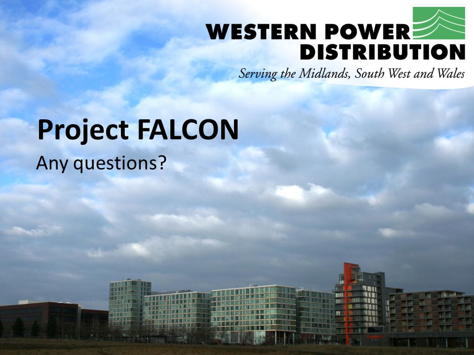 Project FALCON Any questions?