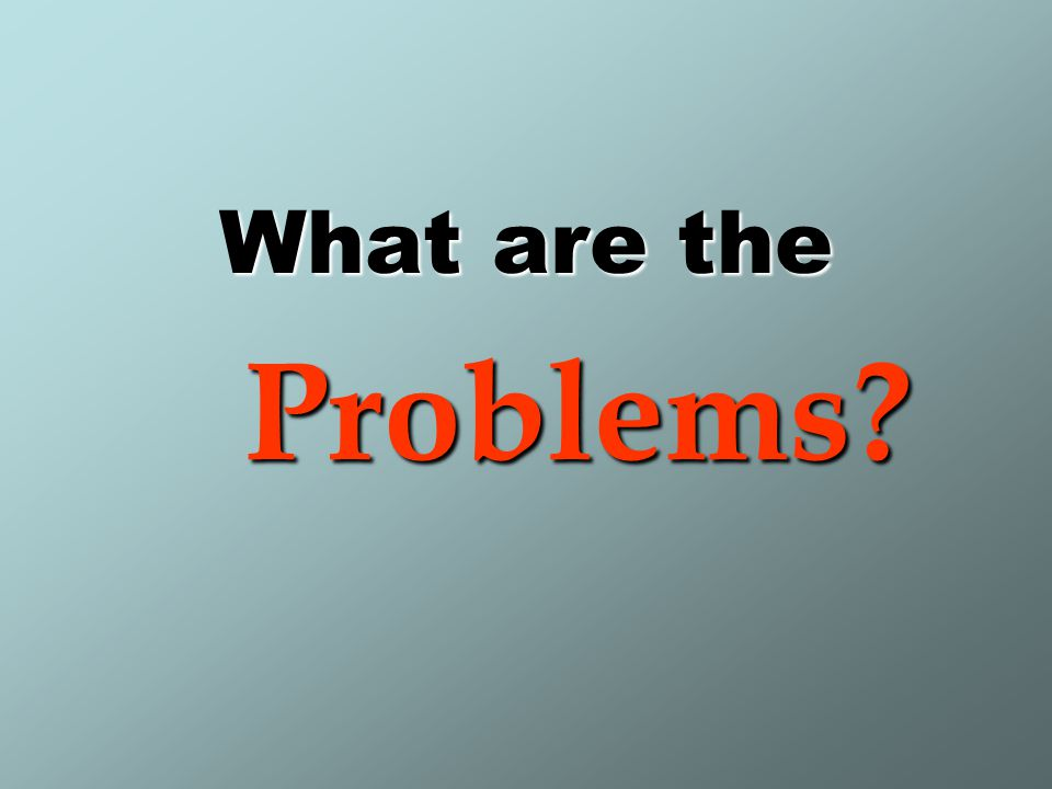 1.Problems of garbage collection process First – Containers: –Burning refuse inside containers.