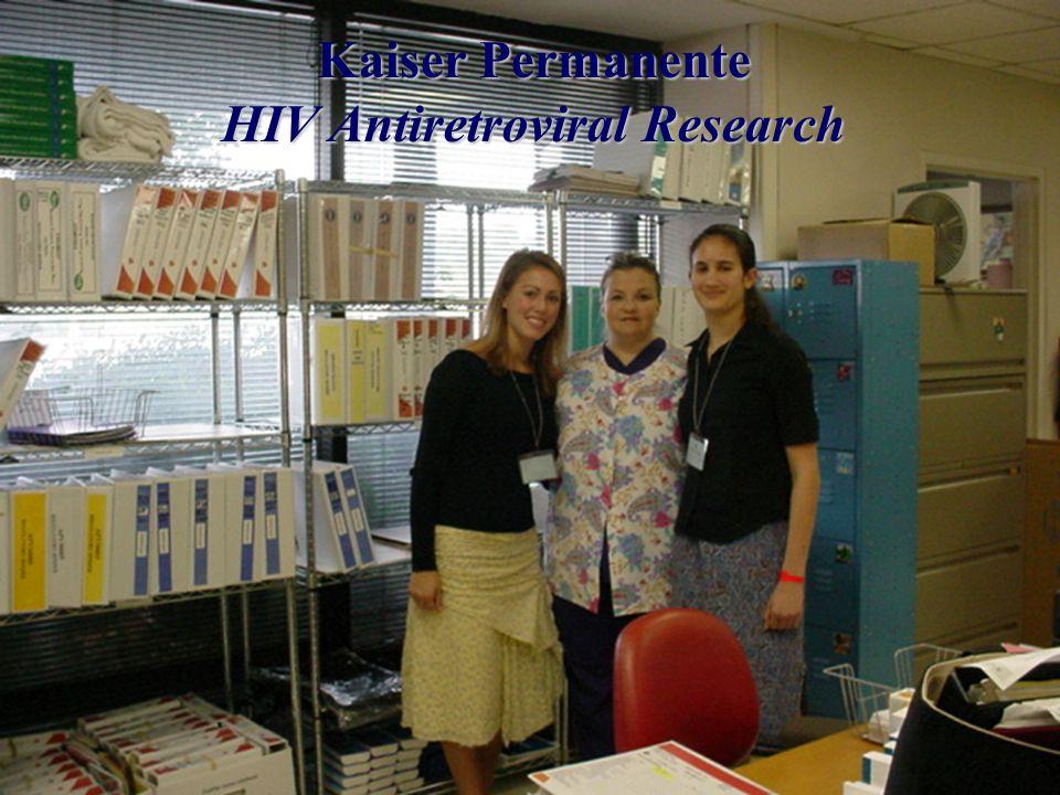 Kaiser Permanente HIV Antiretroviral Research