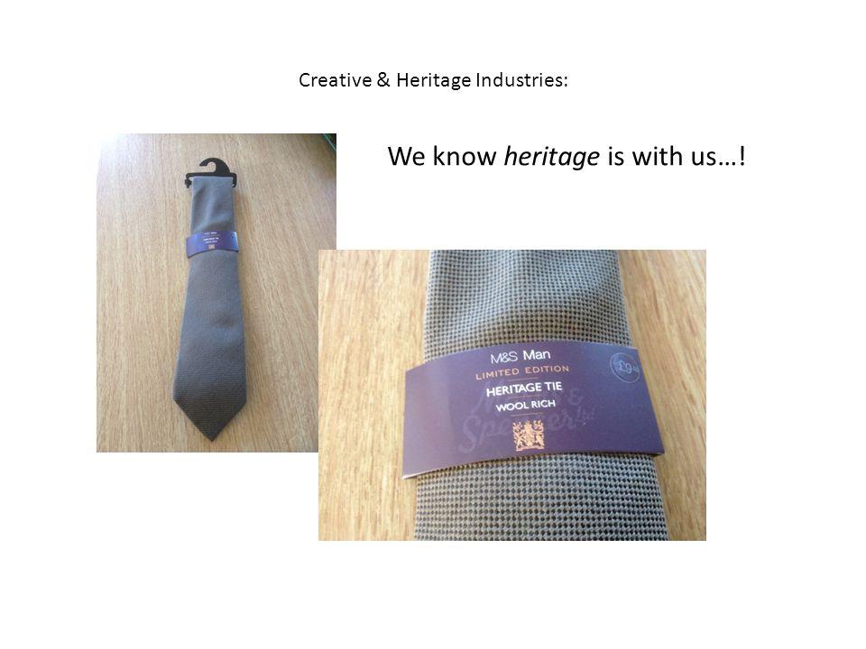 Heritage in the mid 21 st Century.