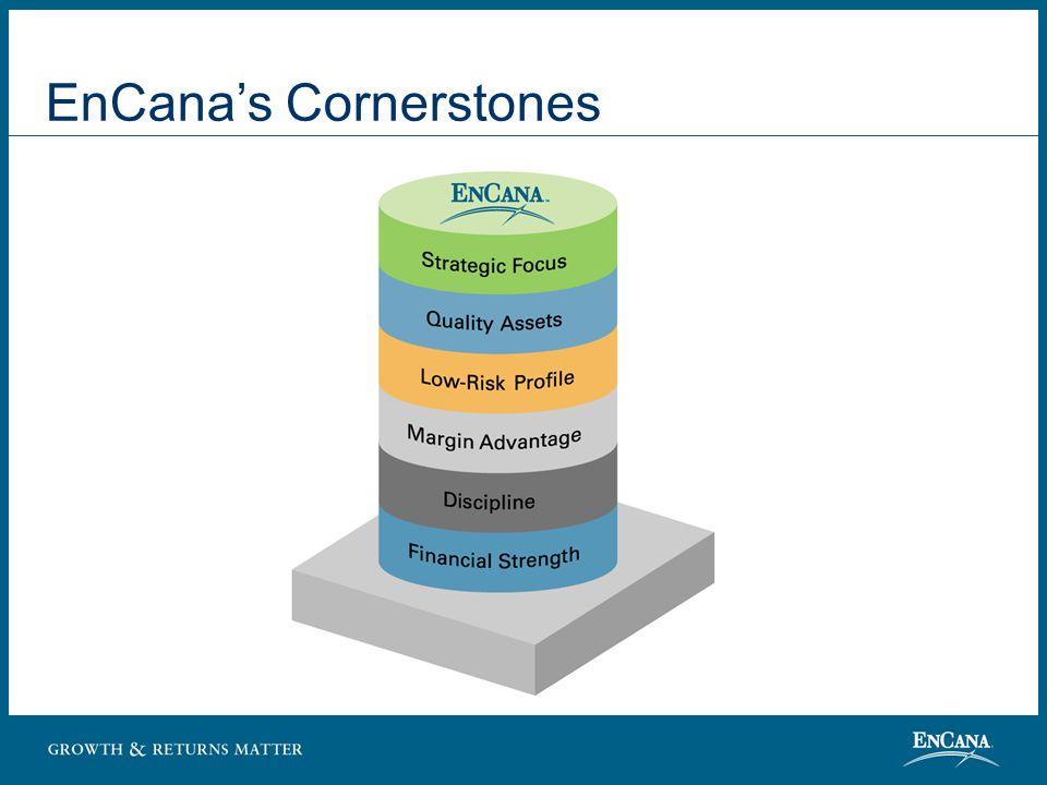 Strategic Focus North American Resource Play Leadership - Natural gas - In-situ oilsands Focused International Program - U.K.