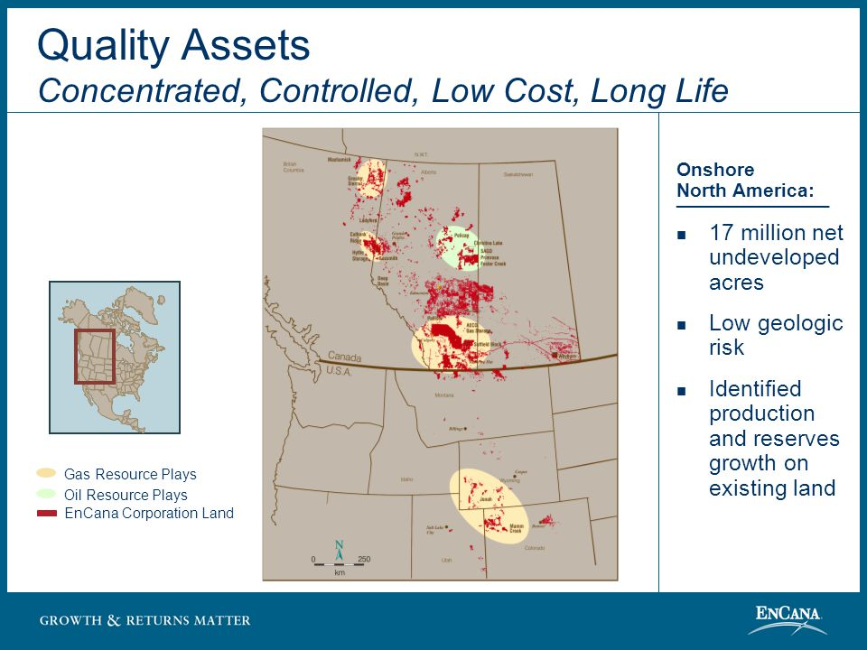 Current Forecast 2007 60% 40% 80% 20% Resource Plays Conventional Plays Quality Assets North American Resource Plays Divestments may accelerate the pace….