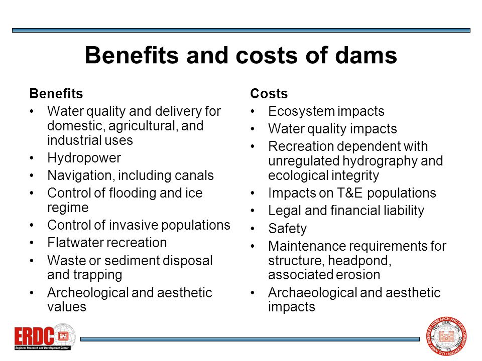 Conclusions 1 Dam removal is a requisite tool for managing aging structures and restoring both aquatic and riparian populations.