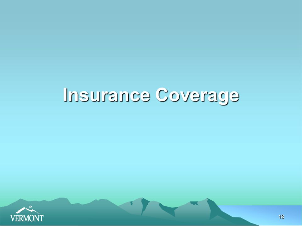 18 Insurance Coverage