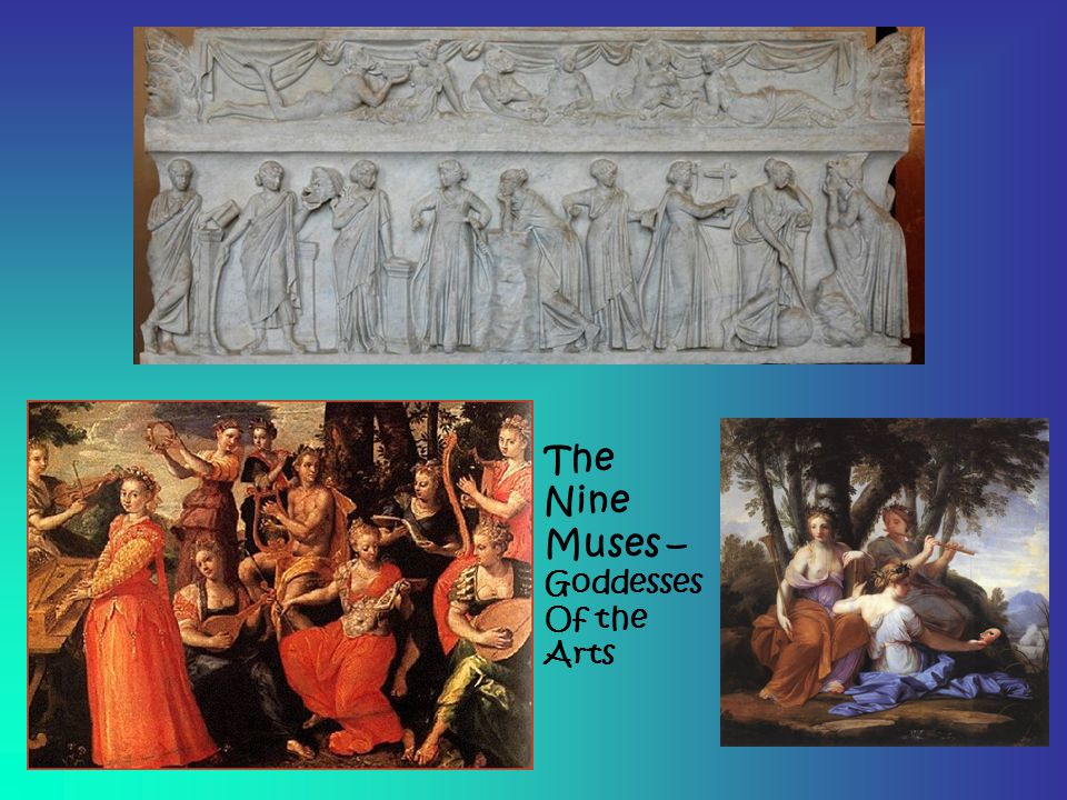 The Nine Muses – Goddesses Of the Arts