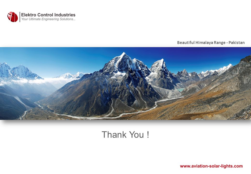 Thank You ! Beautiful Himalaya Range - Pakistan
