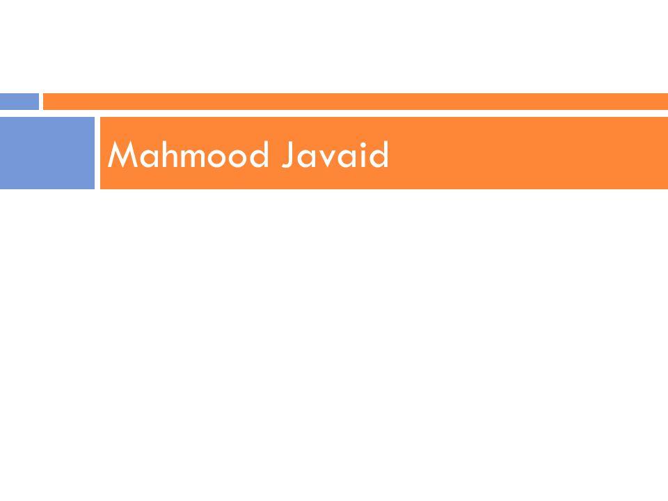 Mahmood Javaid