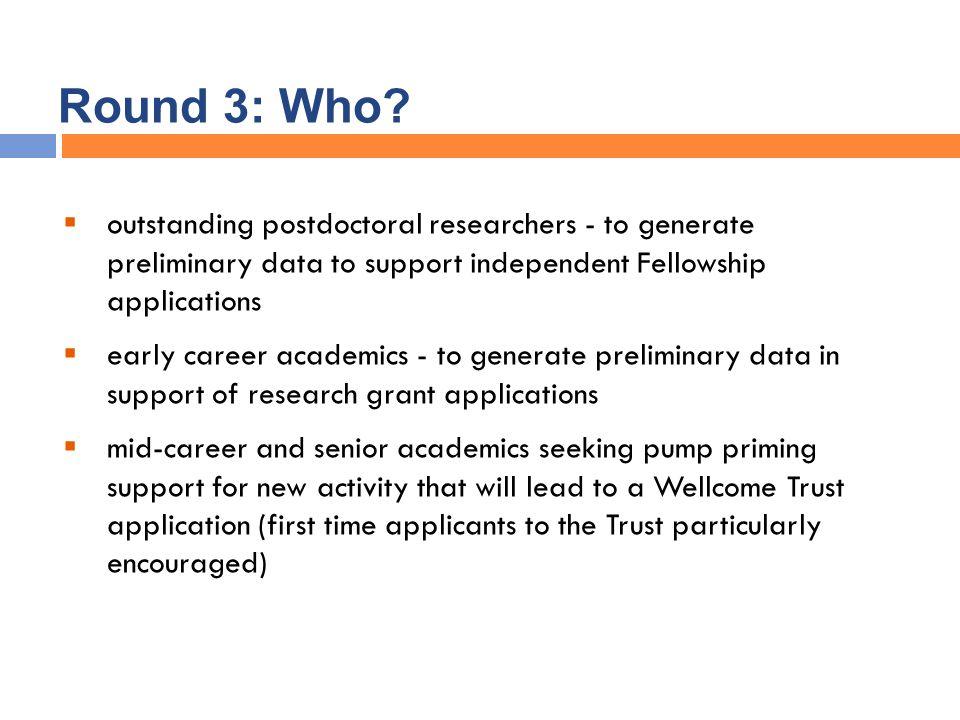 Round 3: Who.