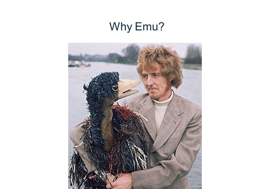 Why Emu