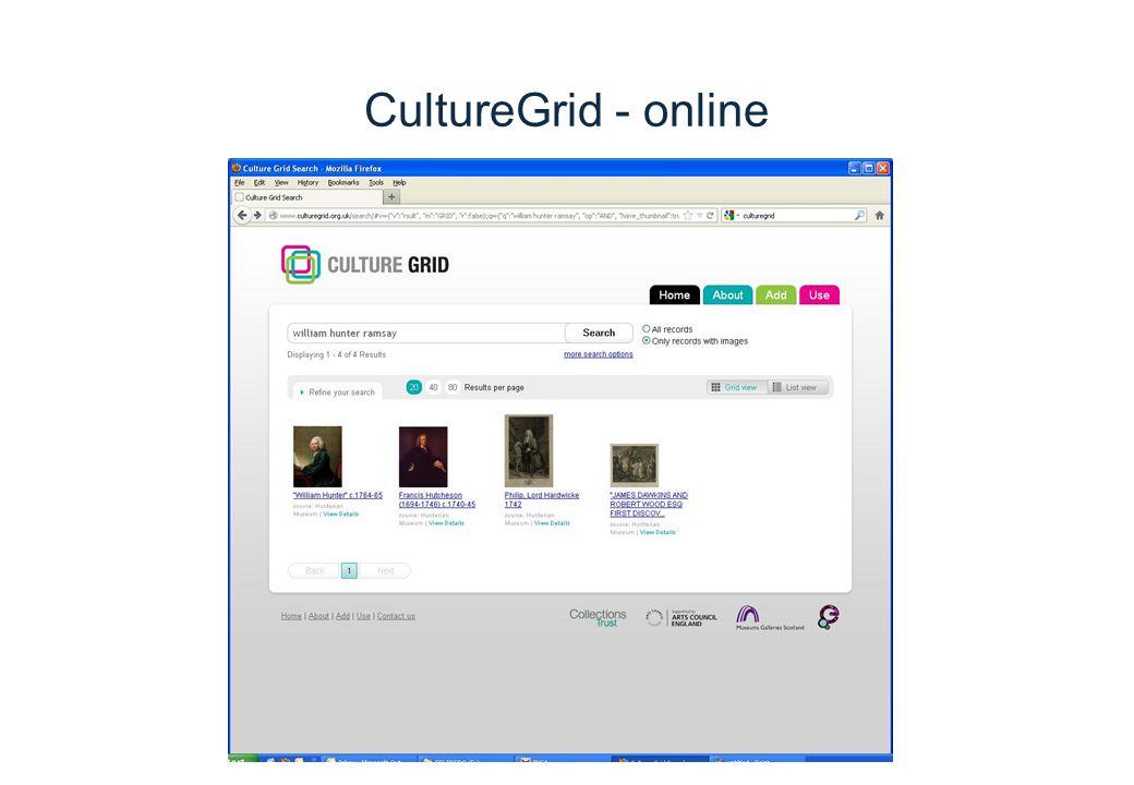 CultureGrid - online