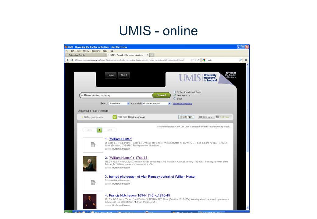 UMIS - online