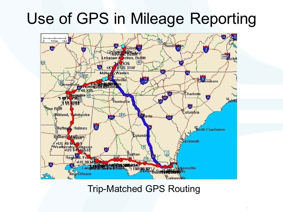 Odometer Readings vs GPS How they compare How should we reconcile between GPS-based mileage and odometer readings.
