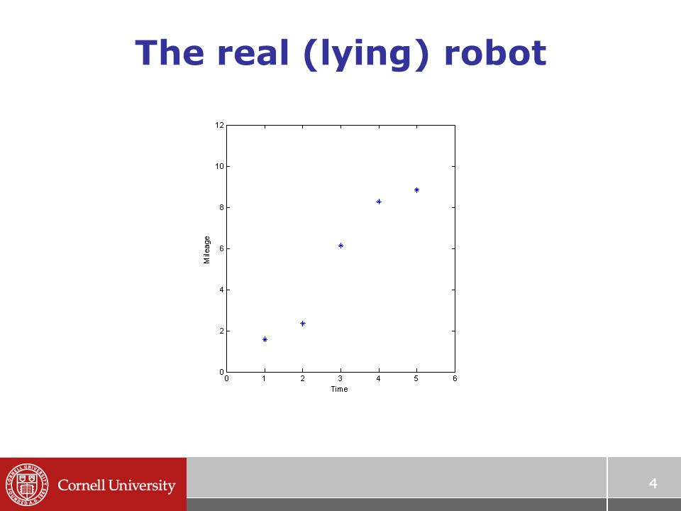 4 The real (lying) robot