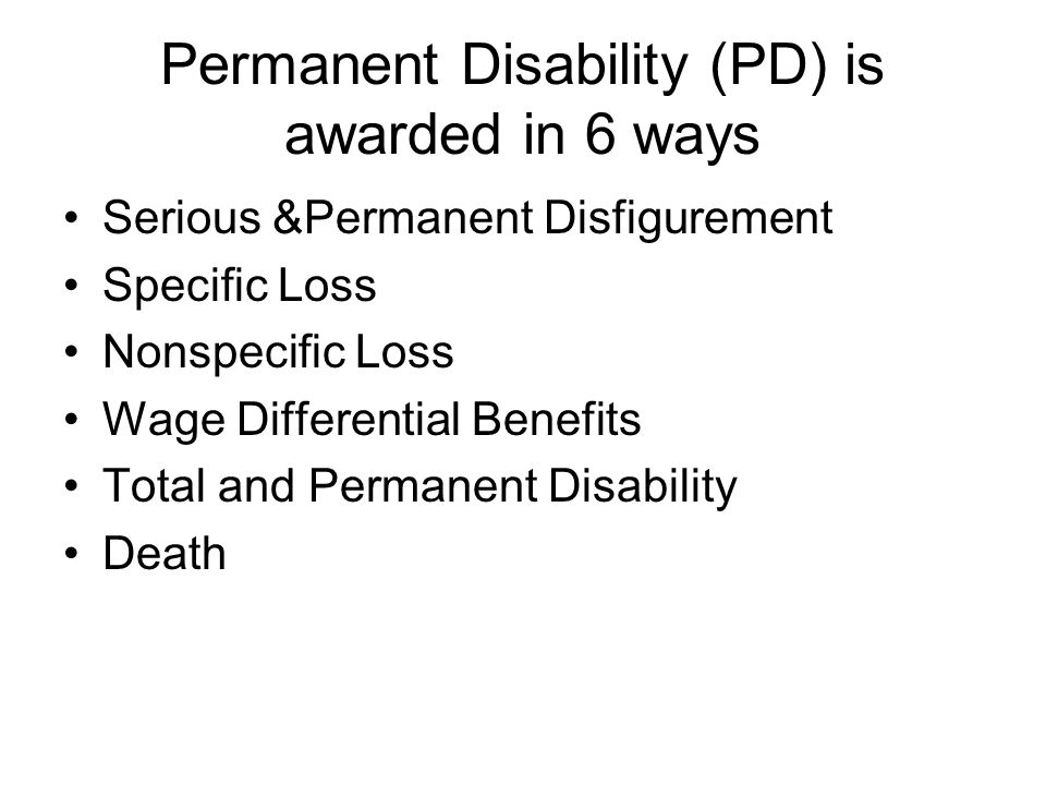 Vocational Rehabilitation A benefit that may be claimed and/or awarded in specific circumstances.
