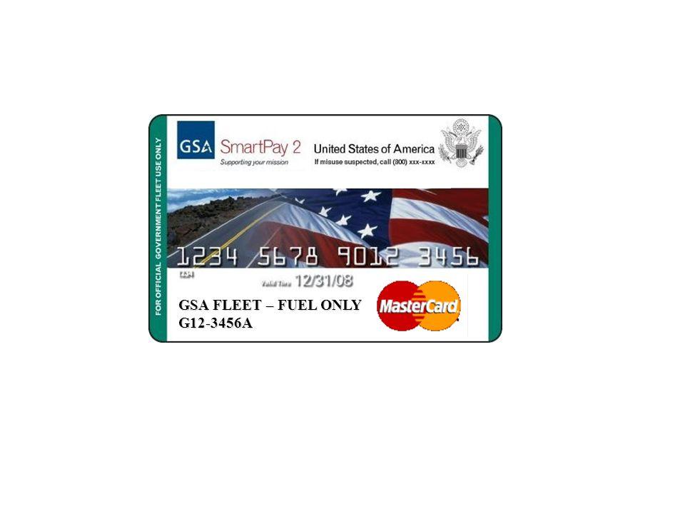 GSA FLEET – FUEL ONLY G12-3456A