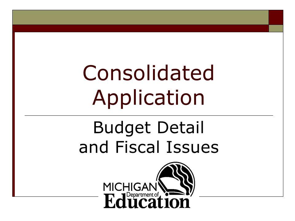2 Presentation Overview  Budget Preparation – Program Side  Budget Detail – Program Side  Internal Controls at District Level – Financial Side Final Budget Approval Expenditure Reporting