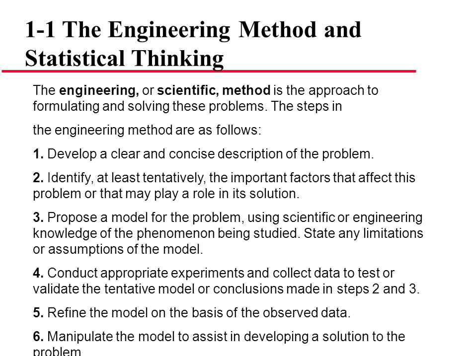 Engineering Example Since pull-off force varies or exhibits variability, it is a random variable.