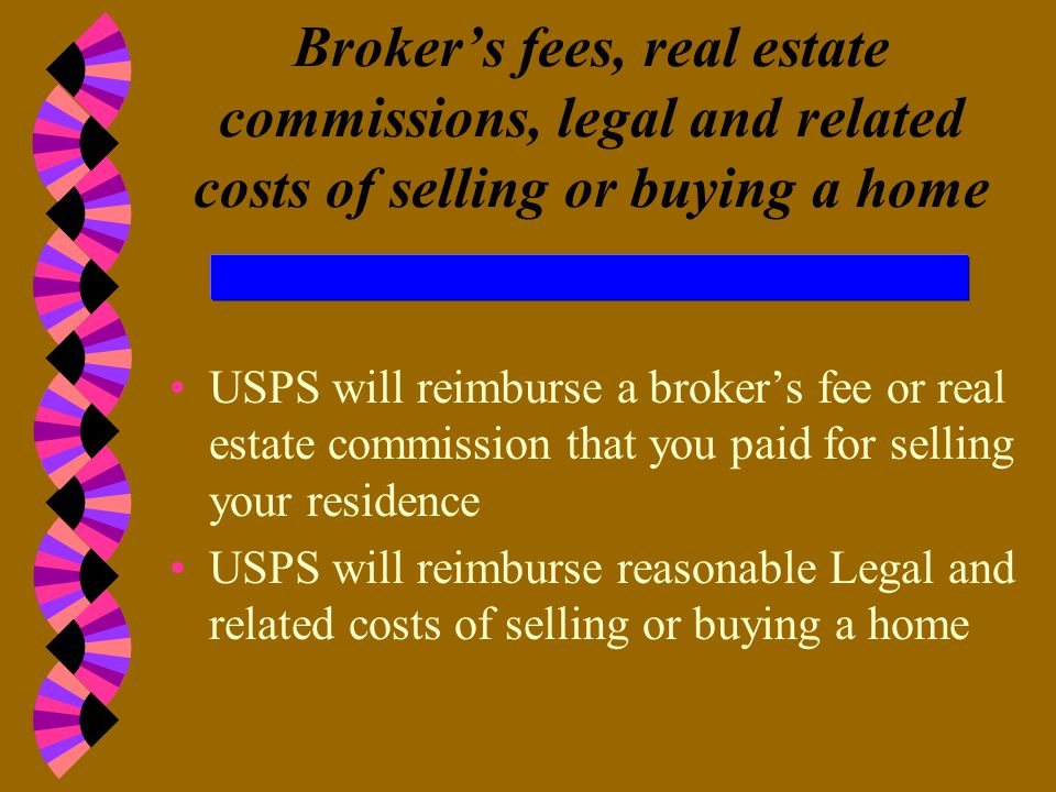 RELOCATION GUIDELINES FOR BARGAINING UNIT EMPLOYEES Overall limitations on reimbursement: 10% of sales price 5% of purchase price REAL ESTATE TRANSACT