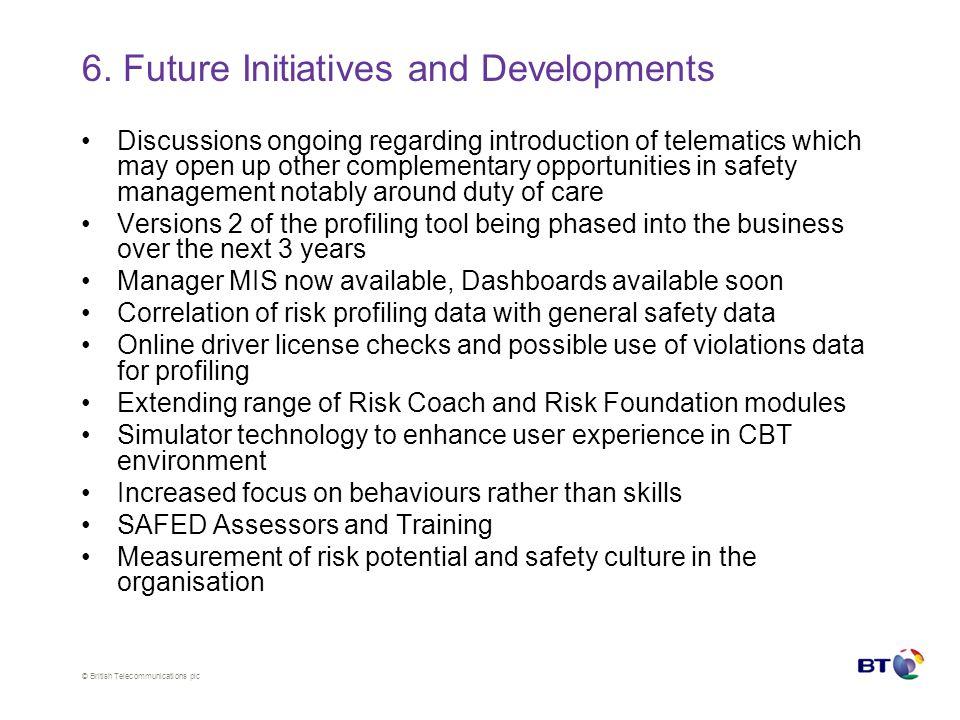© British Telecommunications plc 6.