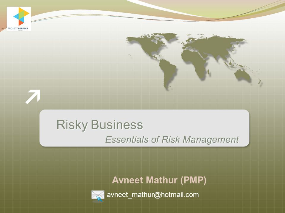 Monitoring and Control Continually monitor risks to identify any change in the status, or if they turn into an issue.