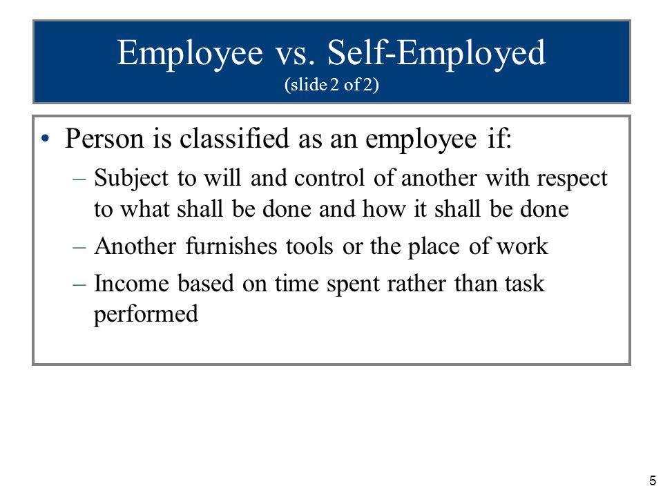 5 Employee vs.