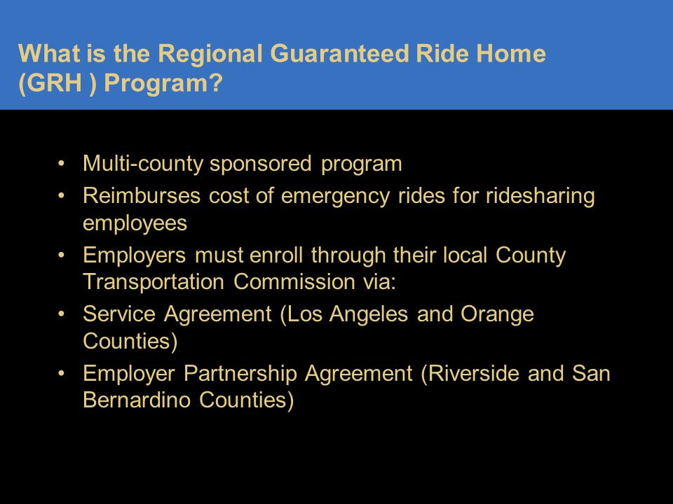 Contact Information GRH Program 7355 Magnolia Avenue Riverside, CA 92504 1-866-HOME-555 (1-866-466-3555) Fax: 951-352-8231 Email: rhoogeveen@its-consulting.net