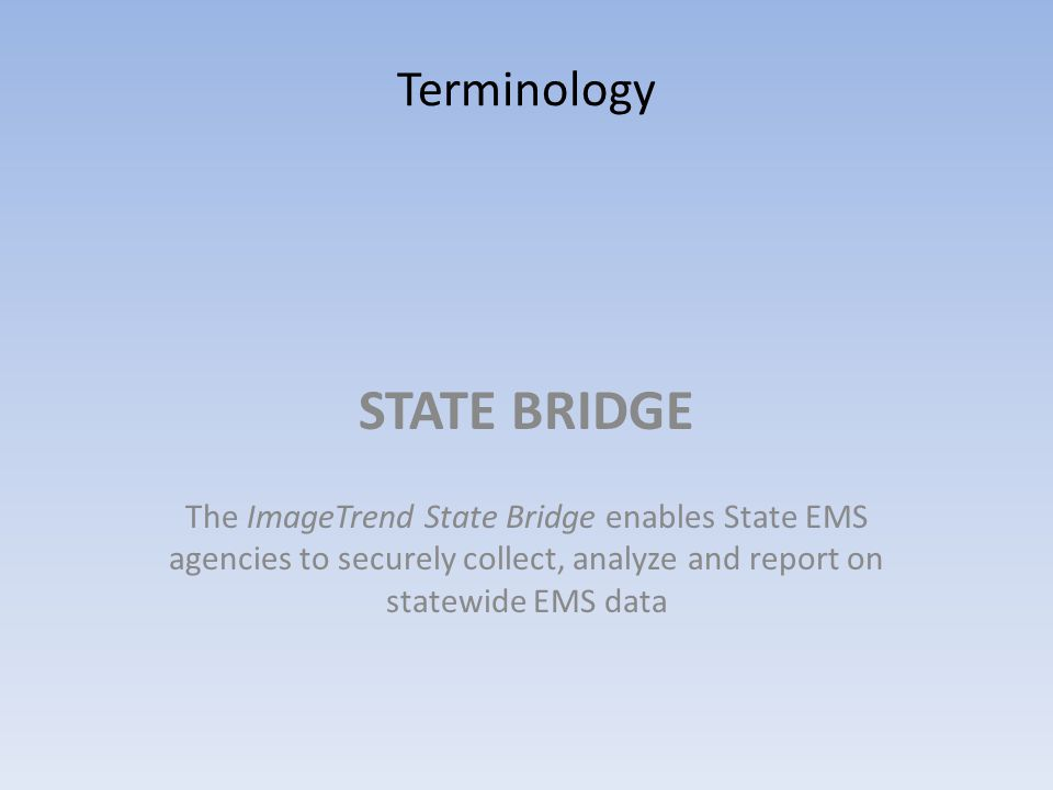 RESCUE BRIDGE Rescue Bridge is fire and EMS solution incorporating ePCR, fire inspections, pre-planning and inventory data collection and management in a paperless environment.