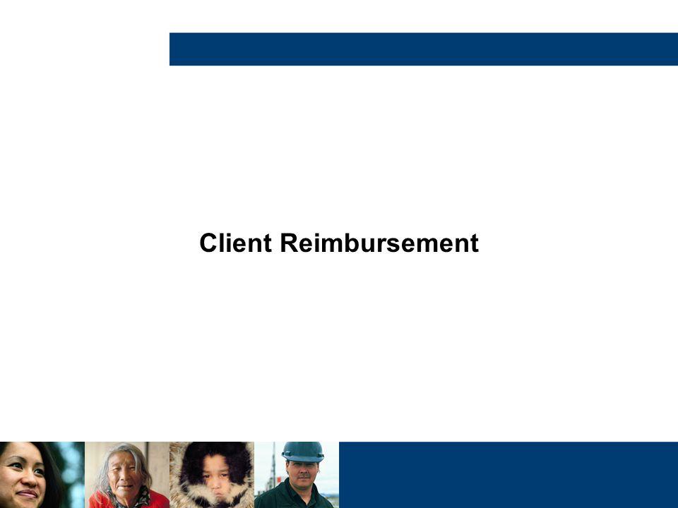 Client Reimbursement