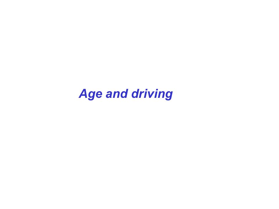 Marottoli and Richardson (1988): Despite the fact that 40% of the cohort reported a history of adverse events, and 27% of those participating in the driving performance sub-study were rated...as exhibiting moderate or major difficulties, all drivers rated themselves as being average to above average drivers...Thus, objective evidence of driving ability...