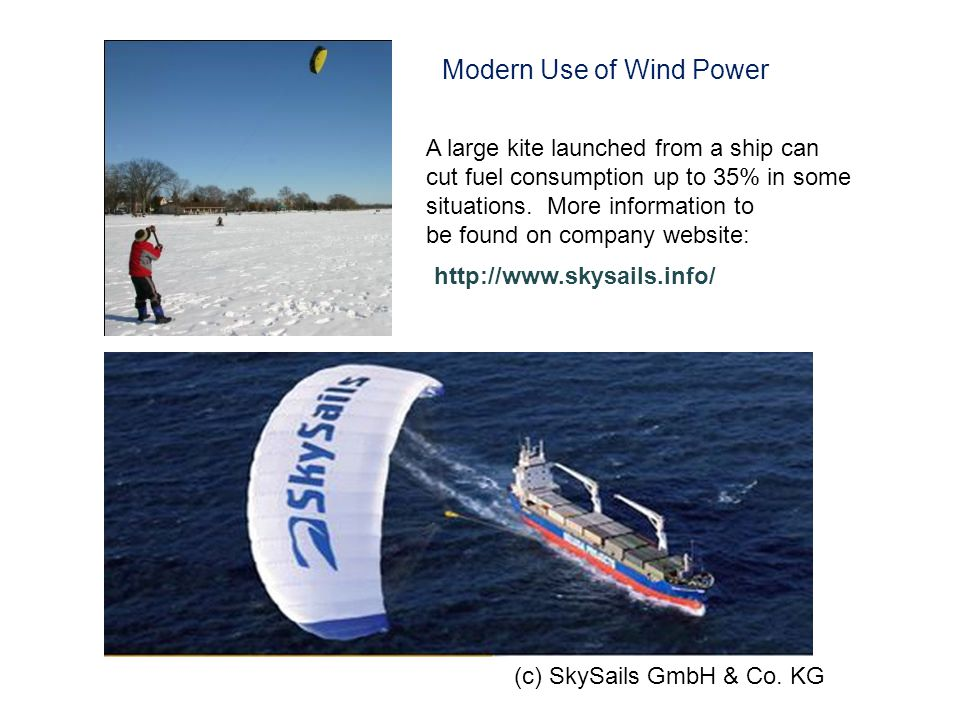 (c) SkySails GmbH & Co.