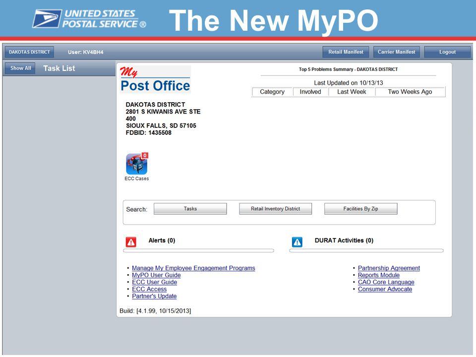 The New MyPO