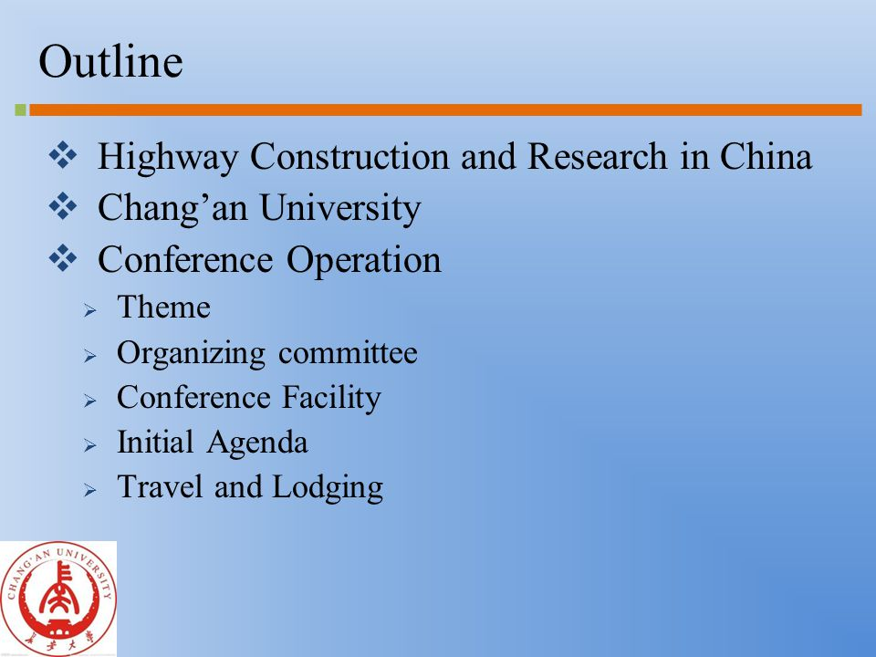 Conference Operation  Theme: Durable Pavement and Sustainable Materials  Pavement Design  New Materials and Technology  Pavement Performance Evaluation  Instrumentation  Data Analysis Technique  Maintenance and Rehabilitation  Multi-scale characterization of pavement structure and materials