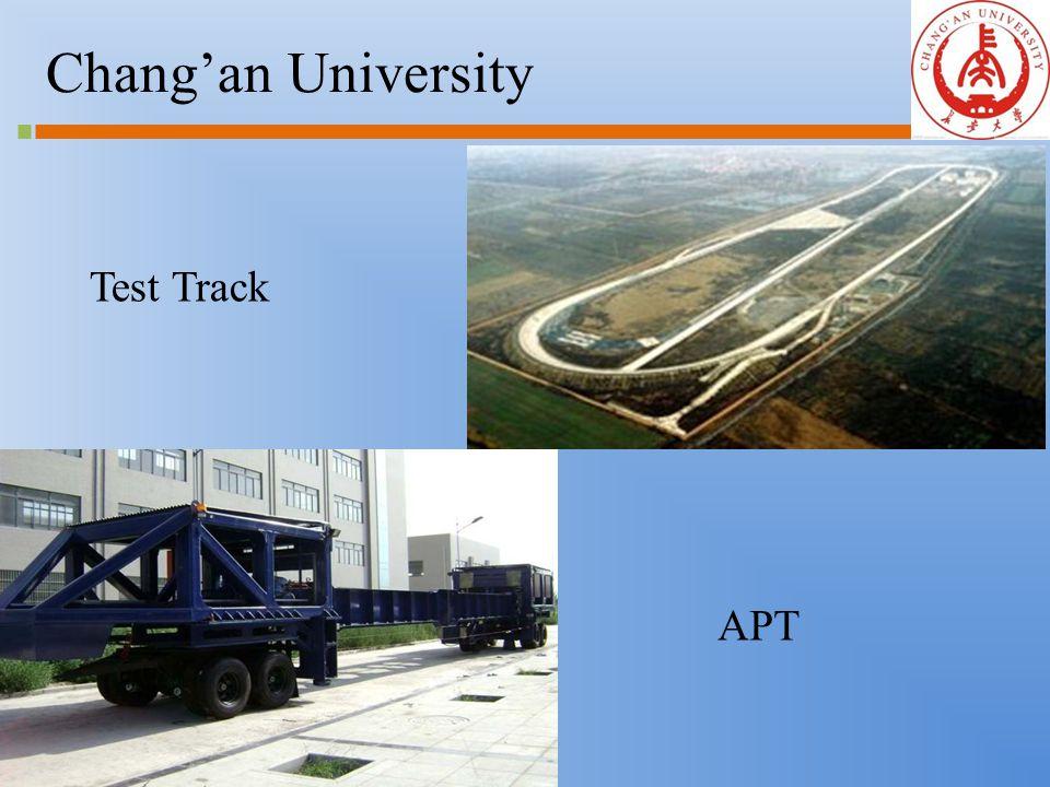 Chang'an University Test Track APT