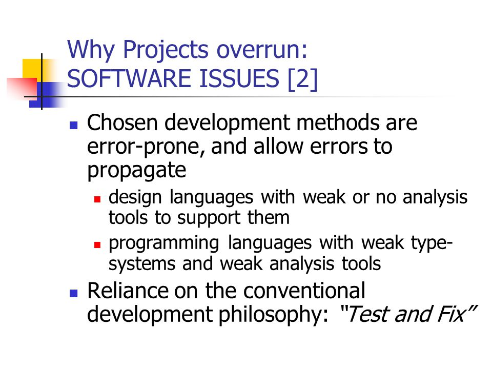Conclusions 1.The weak development methods that are currently widespread are unprofessional 2.