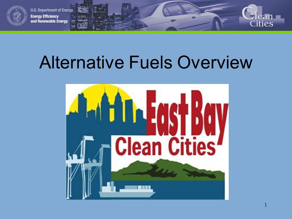 1 Alternative Fuels Overview
