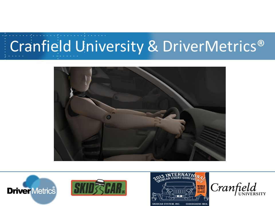 Established 1946 Exclusively postgraduate (graduate education in USA) Technology, science & management Research into safety critical industries Cranfield University, UK