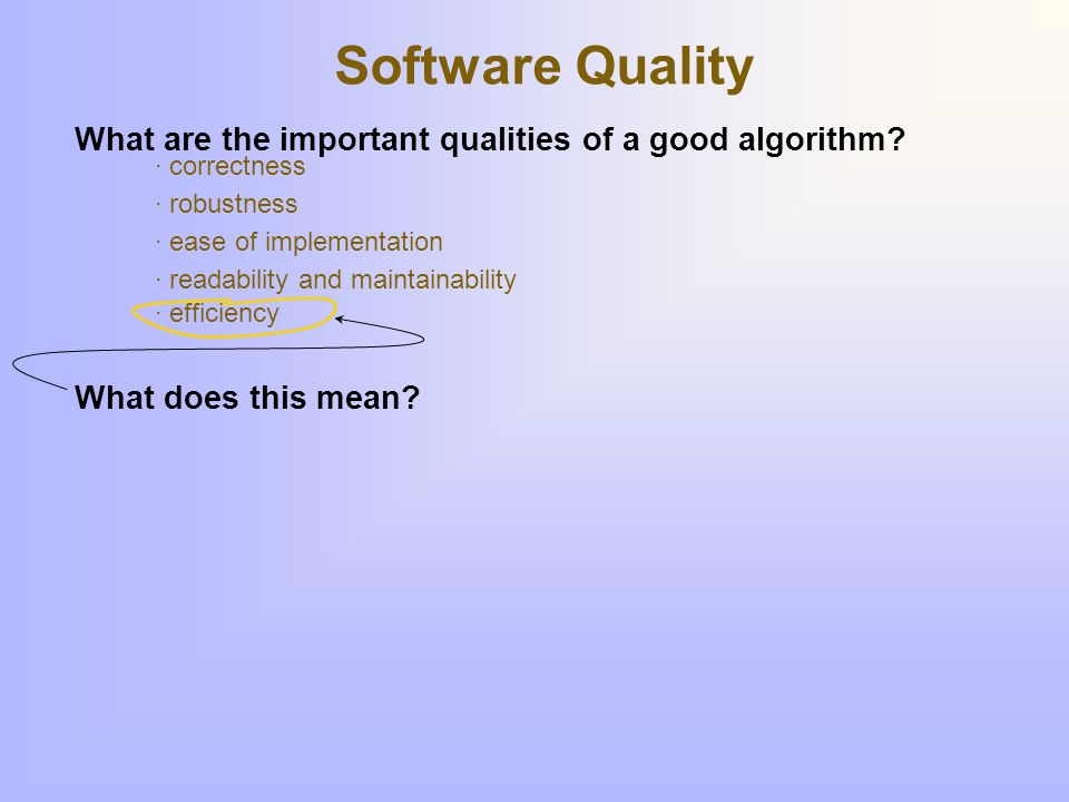 Measuring time & space An algorithm's run time and/or memory requirements depend upon ____.