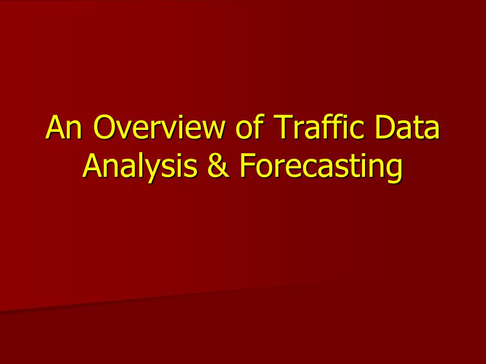 HDSB Forecasting Current year estimates Current year estimates –Matrix process –Traffic Data Forecaster HPMS HPMS –Current year estimates –VMT estimates All based on linear regression All based on linear regression