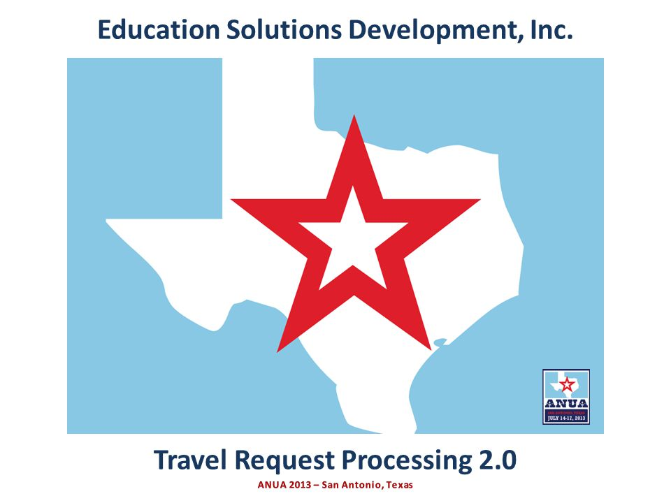 Presented by Education Solutions Development, Inc.