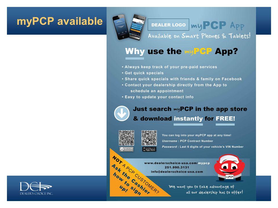 myPCP available