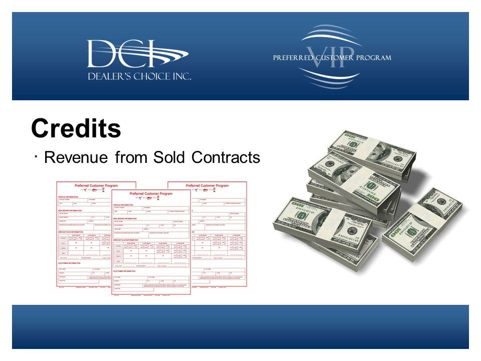 Debit ∙ Service Redemptions ∙ Cancellations ∙ Compensation ∙ Admin