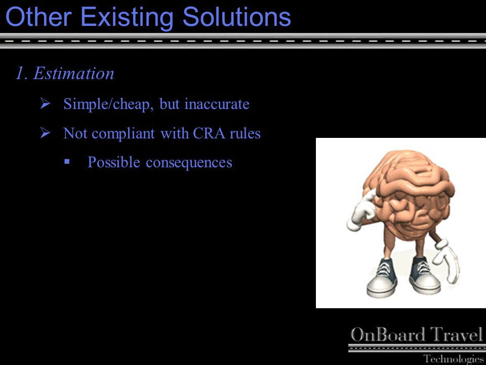 8 Other Existing Solutions cont ' d 2.