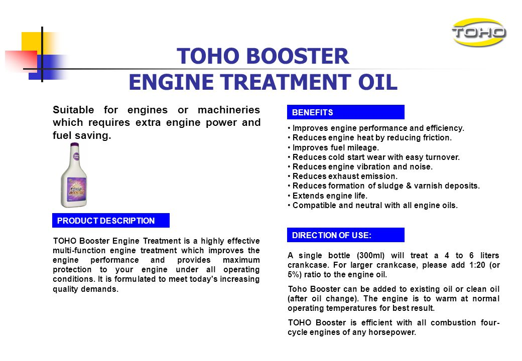 TOHO D50 DIESEL HI-TECH ENGINE OIL Suitable for heavy duty commercial vehicles on extreme driving conditions where longer service interval and reducti