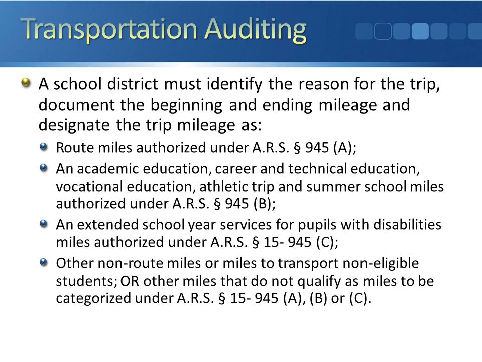 What would auditors look for: Original documentation Paper and electronic/digital records Aggregated documentation Each school district is different—it is a local decision on how to document, so each audit process is unique— auditors determine how and then collect information