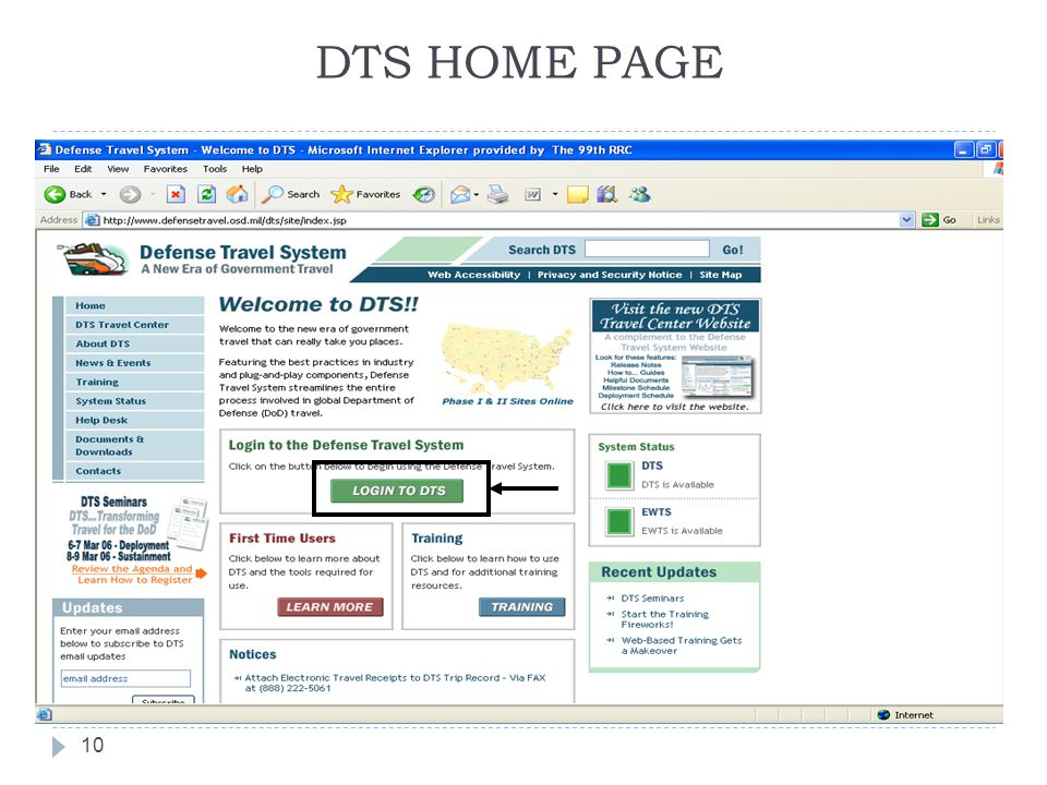 DTS HOME PAGE 10