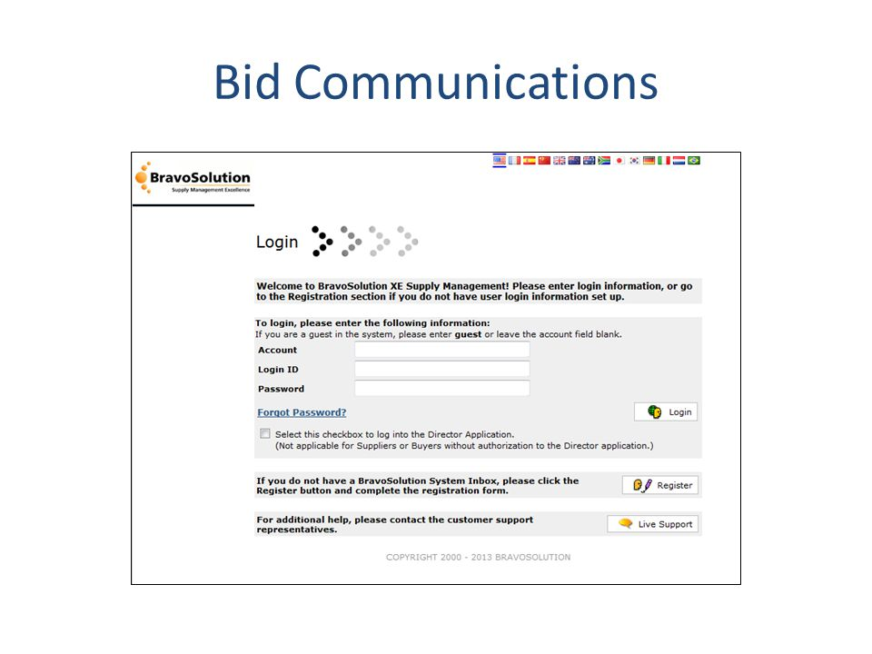 Bid Communications