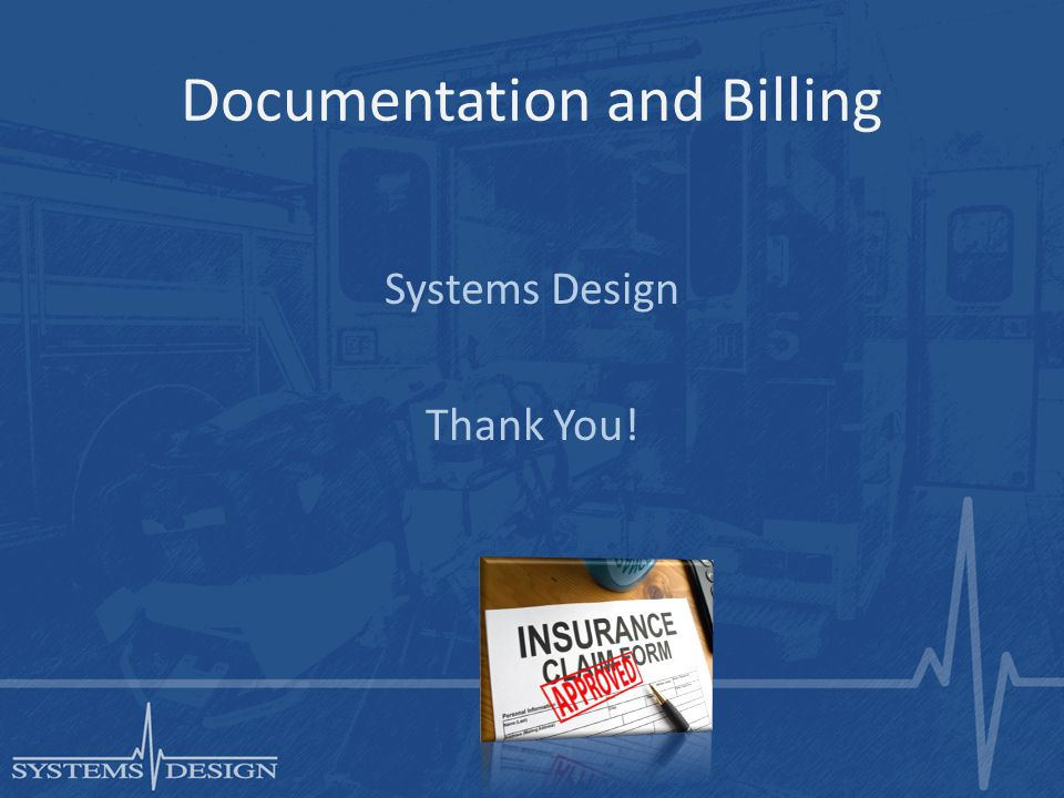 Documentation and Billing Systems Design Thank You!