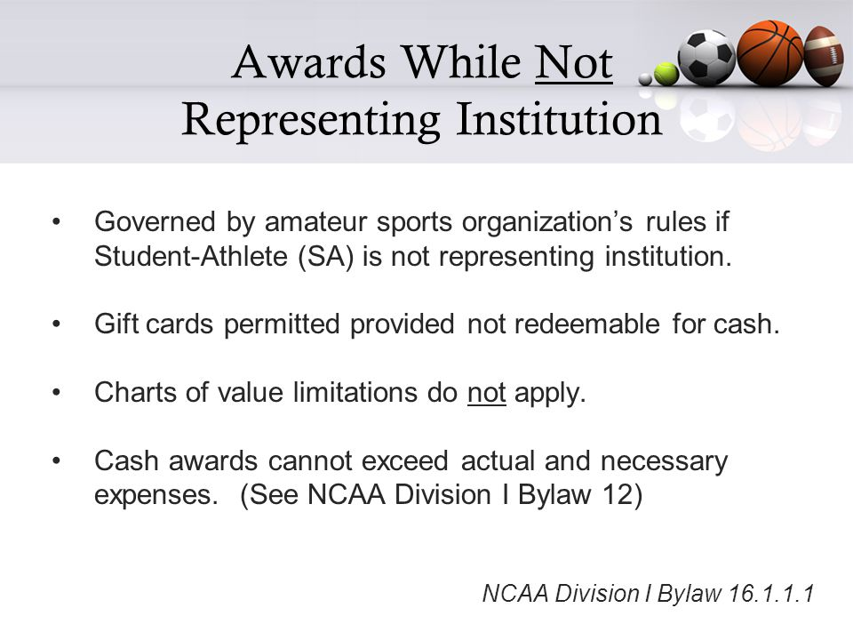 Entertainment - General Reminders Not permissible to pay expenses for team to scout a future opponent as entertainment in conjunction with practice or competition.