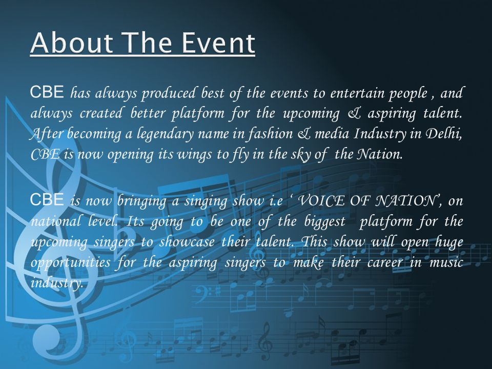 1.During the auditions too your Co.Logo will be placed on all the publicity material.